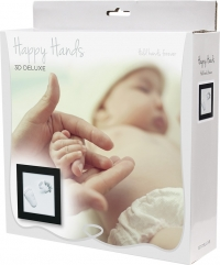 Happy Hands Hand & Fussabdruckset - 3D Deluxe