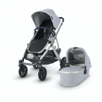 Uppababy Vista 2019, William (mit Echtleder-Griff)