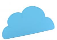 Silikon-Tischmatte Wolke, Hellblau