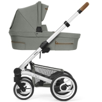 Mutsy Nio Kinderwagen, Inspire Eucalyptus 2019 (Gestell: silber)