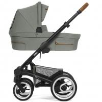 Mutsy Nio Kinderwagen, Inspire Eucalyptus 2019 (Gestell: schwarz)