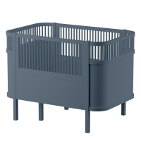 Sebra Bett, Baby & Junior, Forest Lake Blue