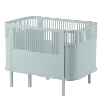 Sebra Bett, Baby & Junior, Mist Green