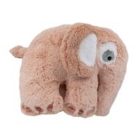 Sebra Plüsch-Tier, Fanto der Elefant, grapefruit pink