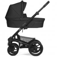 Mutsy Nio Kinderwagen, Explore Steel Grey 2019 (Gestell: schwarz)
