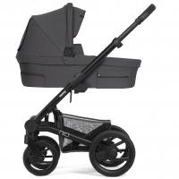 Mutsy Nio Kinderwagen, Inspire Pearl Grey 2019 (Gestell: schwarz)