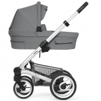 Mutsy Nio Kinderwagen, Inspire Light Shade 2019 (Gestell: silber)