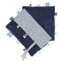 Snoozebaby Kuscheltuch Sweet Dreaming, Midnight Blue