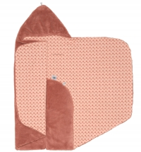 Snoozebaby Wickeldecke Trendy Wrapping, Dusty Rose