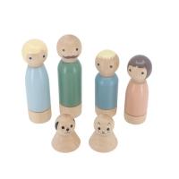 Puppen für das Sebra Puppenhaus