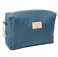 NOBODINOZ wasserdichte Windeltasche Diva - Night Blue