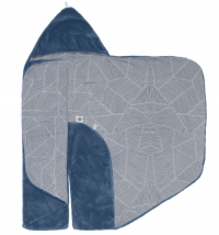 Snoozebaby Wickeldecke Trendy Wrapping, Midnight Blue