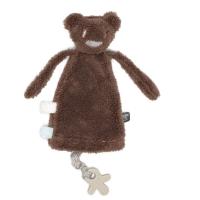 Snoozebaby Schnullerhalter Kuscheltier, Muddy Monkey