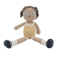 Sebra Häkel-Puppe Anna