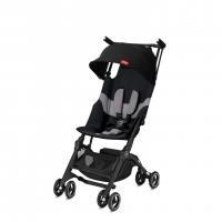 gb Goodbaby Pockit+ All Terrain Reisebuggy, Velvet Black 2019
