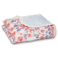 Aden Anais Kuscheldecke Silky Soft Dream Blanket - Watercolour Garden