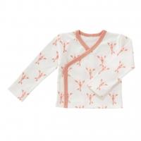 Fresk Wickelshirt, Lobster coral pink