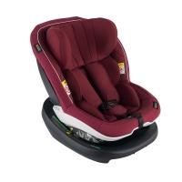 BeSafe iZi Modular i-Size Reboard Autositz, Burgundy Melange