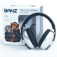 Banz Baby-Gehörschutz Bubzee, Silver