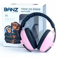 Banz Baby-Gehörschutz Bubzee, Petal Pink