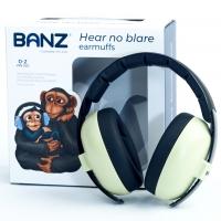 Banz Baby-Gehörschutz Bubzee, Leaf Green
