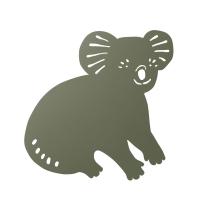 Ferm Living Wandlampe Koala, Dark Olive