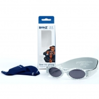Banz Baby Bubzee Sonnenbrille, Silver Leaf