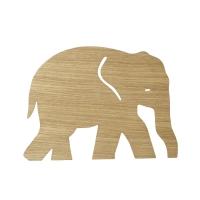 Ferm Living Wandlampe Elefant, Eiche