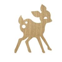 Ferm Living Wandlampe My Deer, Eiche