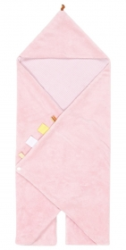 Snoozebaby Wickeldecke Trendy Wrapping, Powder Pink