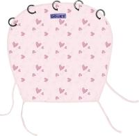 Dooky Sonnen- & Windschutz für den Kinderwagen, Pink Heart