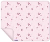 Dooky Kinderwagen-Decke, Pink Heart