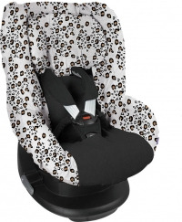 Dooky Kindersitzbezug Gruppe 1 - Little Leopard