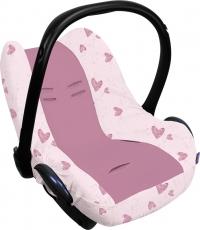 Dooky Babyschalenbezug - Pink Heart