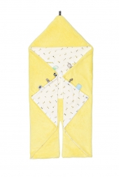 Snoozebaby Wickeldecke Trendy Wrapping, Limoncello