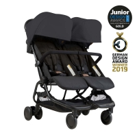 Mountaing Buggy Zwillingsbuggy Nano Duo, Black 2019