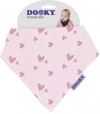 Dooky Dreieckstuch Pink Heart