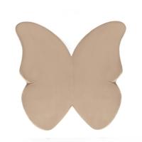 MISIOO Spielmatte Schmetterling, Gold