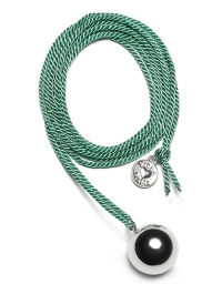 Proud MaMa Bola-Kugel - BabyBel Twist, Green/ Silber