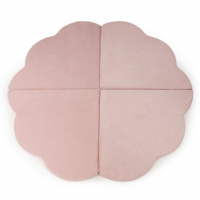 MISIOO Spielmatte Blume klein, Baby Pink