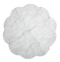 MISIOO Spielmatte Blume klein, Marble