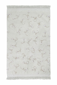 Lorena Canals Kinderteppich, English Garden Ivory, 140 x 210 cm