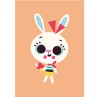 Geburtstagskarte Rabbit