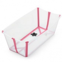 STOKKE Flexi Bath, Transparent Pink