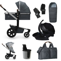 JOOLZ Day 3 Kinderwagen, Gorgeous Grey - 3KH Special Set Premium (inkl. Versicherung)
