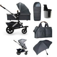 JOOLZ Geo 2 Kinderwagen, Gorgeous Grey 2019 - 3KH Special Set