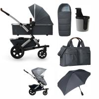 JOOLZ Geo 2 Kinderwagen, Gorgeous Grey - 3KH Special Set Plus