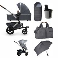 JOOLZ Geo 2 Kinderwagen, Radiant Grey - 3KH Special Set Plus