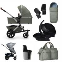JOOLZ Geo 2 Kinderwagen, Daring Grey - 3KH Special Set Premium (inkl. Versicherung)