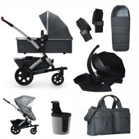 JOOLZ Geo 2 Kinderwagen, Gorgeous Grey - 3KH Special Set Premium (inkl. Versicherung)